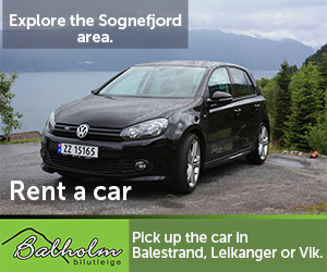 Explore the area with a rental car