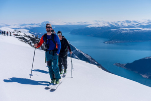 Guided glacier hikes